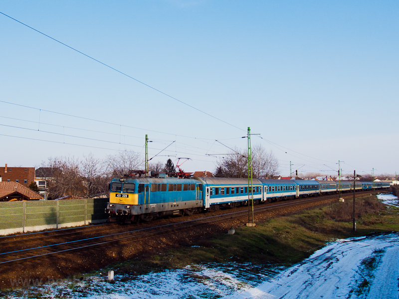 The 431 223 seen at Vecsés- picture