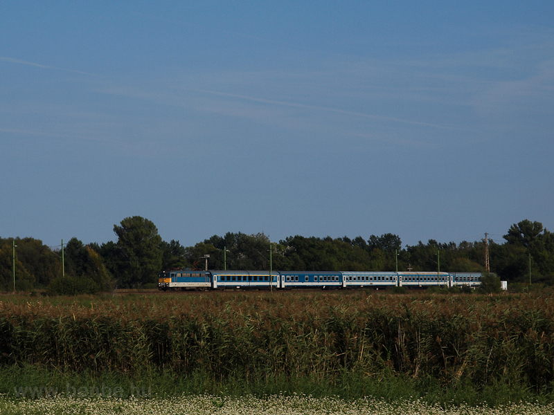 An Intercity train seen bet photo