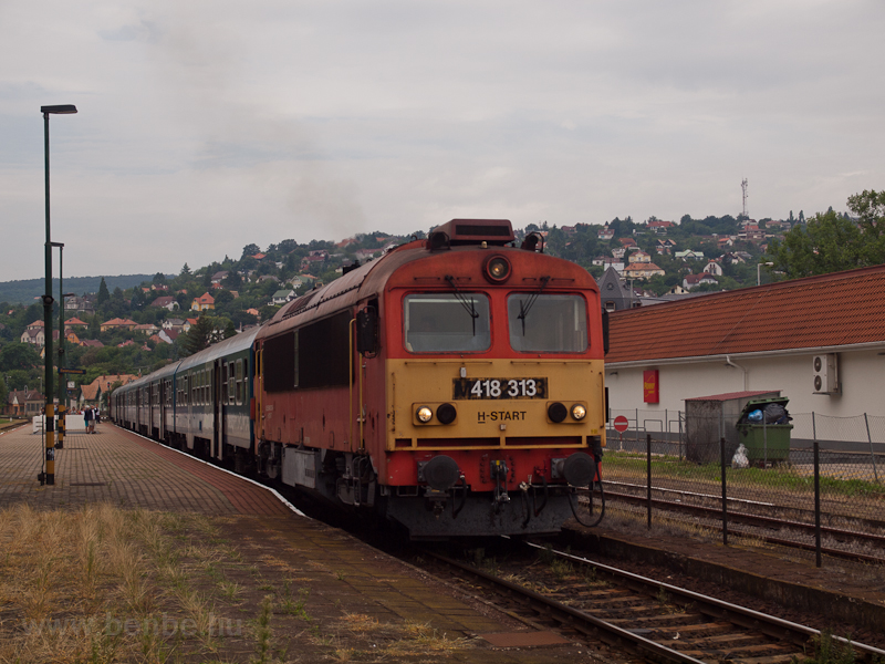 The 418 313 seen at Balaton photo