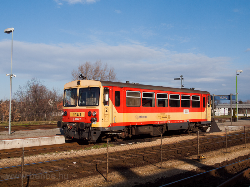 The MÁV-START 117 271 (ex B photo