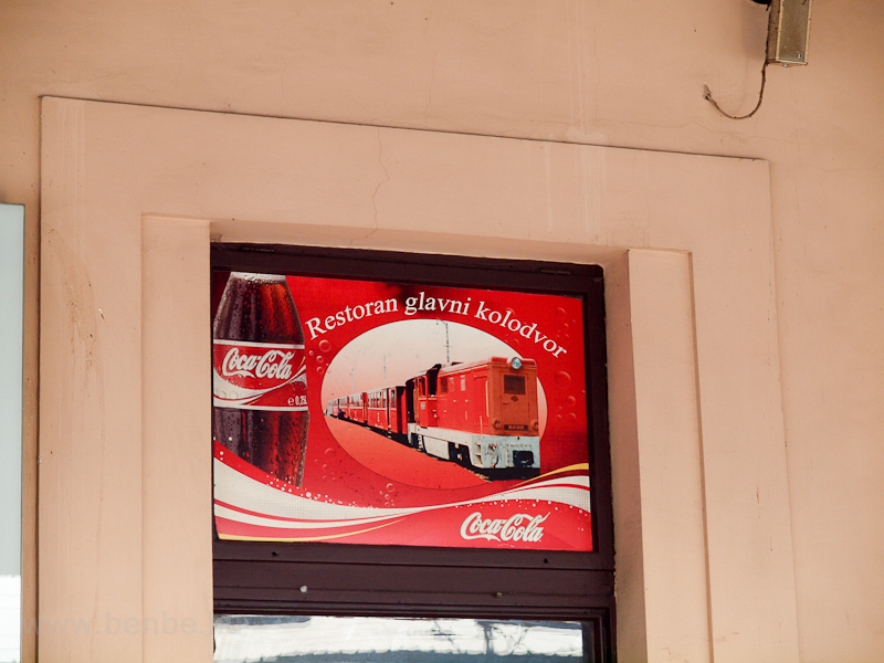 Coca-Cola advertises itself photo