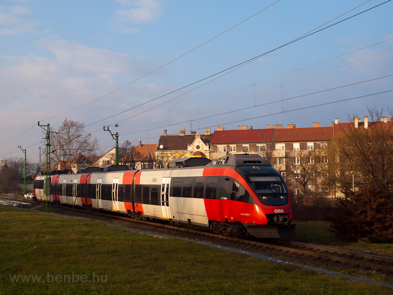 The ÖBB 4124 025-0 seen bet photo