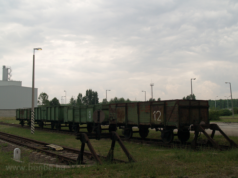 Internal freight car at Mát photo