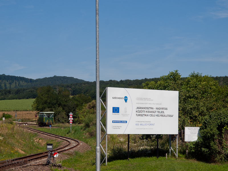 EU advertisement board and  photo