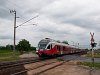 A MÁV-START 5341 040-7 Dunaújváros külső megállóhelyen