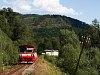 The ŽSSK 812 002-4 seen between Fenyves (Zbojská, Slovakia) and Gömörvég (Tisovec-Bánovo, Slovakia) on the Tisovec Rack Railway