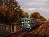 A BKV egy Ev sorozatú metrószerelvénye az M2 metróvonalon Örs vezér tere és Pillangó utca között