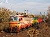 A ZSSKC 240 093-5 Vác-Alsóváros és Sződ-Sződliget között húz egy magánvasúti tehervonatot