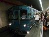 BKV EV3 sorozatú metrókocsi a Stadionok állomáson