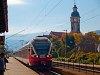 Az 5341 026-2 pályaszámú FLIRT Nagymaros-Visegrádon