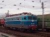A MÁV-TR V43 1001-es retró festésű villanymozdonya Füzesabony állomáson