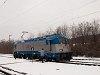 The ČD 380 017-4 multi-system electric locomotive is undergoing its test runs in Hungary – photo taken on line 71 at Vácrátót station