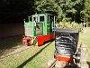 A Nagybörzsönyi Erdei Vasút C50 3756 Nagybörzsönyben