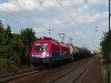 The MÁV-Cargo 1116 043-2 seen hauling a freight train near Bicske alsó