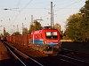 The Rail Cargo Hungaria 1116 049-6 seen hauling a coal train at Mezőkövesd station