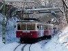 The rack railway by Művész út