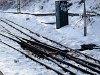 Rack railway switch system Strub