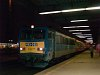 The V63 032 seen hauling a Ro-La train at Kőbánya-Kispest