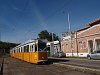 Tram line 17 was stopped, all the KCSV7s had to park at the old Bécsi út terminus