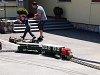 Kerti méretű modellek a Csömödéri Erdei Vasút napján