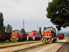 A MÁV-TR 478 205, a 478 202 és a DB Schenker 469 104-1 Tokodon