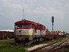 The ŽSSK Cargo 751 055-5 seen at Dunaszerdahely