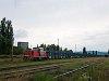 A MÁV-TR 478 305 egy autószállító vonattal Tokodon