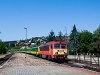 A 418 313 a GYSEV fürdősvonattal Balatonalmádiban