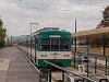 Az 1106-os MX/A sorozatú HÉV-szerelvény Szentendre állomáson