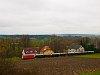 A NÖVOG V12 (ex ÖBB 2095.012) Dietmanns és Alt Weitra között, Eichberg falunál