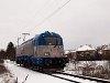 The ČD 380 017-4 multi-system electric locomotive is undergoing its test runs in Hungary – photo taken near Váckisújfalu stop