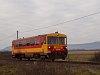 A MÁV-START 117 209 (ex Bzmot 209) Litke és Ipolytarnóc között