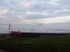 Taurusos szénvonat a Nagyút-Visonta csak teherforgalmú vasútvonalon