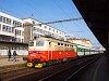 The old livery &#268;D 242 214-5 <q>Plechác</q> seen at Brno hlavní nádra&#382;i