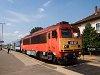 The MÁV-START 418 327 seen at Tapolca