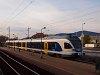 A MÁV-START 415 064 pályaszámú FLIRT motorvonata Vác alsóváros megállóhelyen
