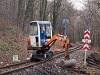 Track maintenance at the Children's Railway