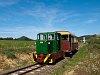 A Nagybörzsönyi Erdei Vasút C50 3756 Márianosztra állomáson