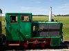 A Szobi Erdei Vasút D04 501 Márianosztra állomáson