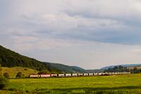 Egy dupla bardotkás tehervonat Balogfalva és Várgedefürdő között – valahogy olyan a menetrend, hogy mindig itt fogom ki a gyorstehereket