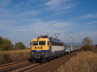 The MÁV-START 432 311 seen between Vác-Alsóváros and Sződ-Sződliget