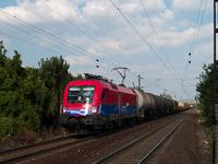 A MÁV-Cargo 1116 043-2 tehervonattal Bicske alsónál