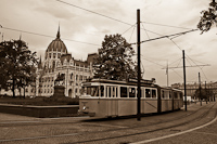 A Bengáli historic tram on line 2