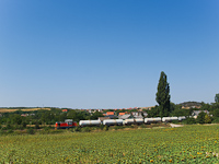 Freight train near Sóly