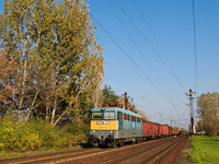 The V43 1030 seen hauling a mixed freight train between Hort-Csány and Hatvan