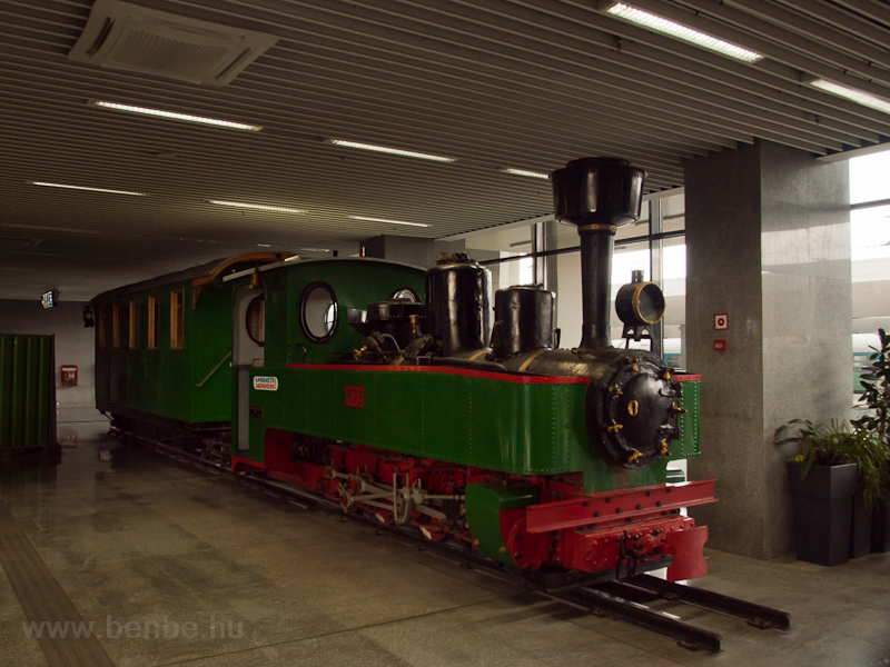 The preserved steam locomot photo