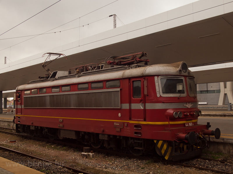 The BDŽ 44 160.0 seen  photo