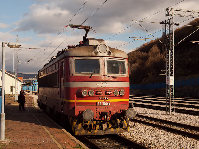The BDŽ 44 155.9 seen  photo