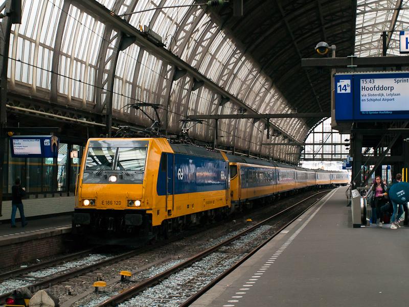Az NS E186 120 pályaszámú T fotó