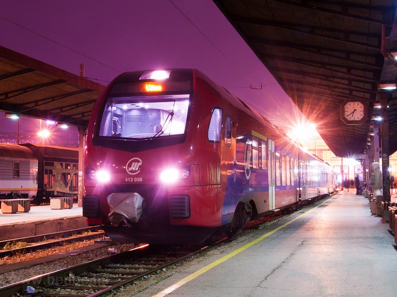 A ŽS 413 036 pályaszám fotó